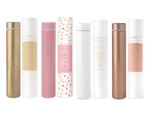 Slim Flask Drink Bottle Assorted Colours You Choose by Designwork Ink BRAND NEW