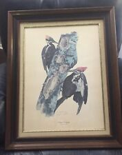Tom Dunnington's Pileated Woodpecker Print