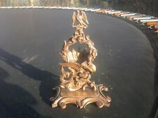 Antique 1850  French Bronze Pocket Watch Holder Stand Eagle top ,Dragon & Snake