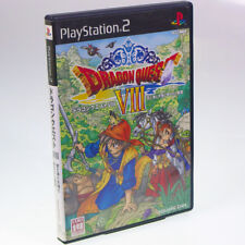 Dragon Quest VIII PS2 Sony Japan Import PlayStation2 SQUARE ENIX RPG PSX NTSC-J