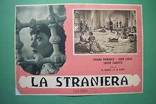 P3 FOTOBUSTA CARTONATA LA STRANIERA VIVIANE ROMANCE LODGE PABST