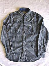 NEW Scotch & Soda Men's Long Sleeve button down dress shirt *MED BLUE SZ: S-L