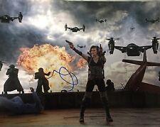 Milla Jovovich Resident Evil Signed Photo 11x14