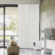Deluxe Blackout White Vertical Blind Room Divider Curtain Adjustable Panel Track