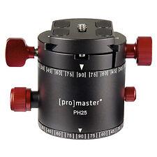 PROMASTER PH25 Professional Panoramic Tripod Head 8013 1 Yr Warranty- Make Offer