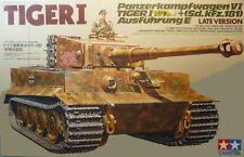 Tamiya 35146 1/35 German Tiger I Sd. kfz.181 AUSFUHRUNG E Late Ver. from Japan
