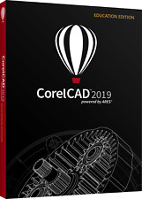NEW Corel Cad 2019 2D 3D Modelling Drafting Design WIN/MAC