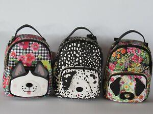 BETSEY JOHNSON Puppy Dog Kitsch Mini Backpack NWT $68.00