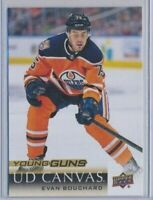 2018-19 Upper Deck Series 2 Young Guns Rookie Canvas C238 Evan Bouchard