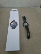 Samsung Galaxy Watch3 SM-R845 45mm Mystic Silver Stainless Steel Case with Blac…