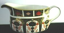Royal Crown Derby Old Imari 1128 Gravy Sauce Boat 1st Quality