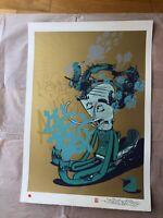 Alexone - Secret Penguin, Limited Edition Handfinished Print, like Banksy, POW