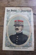 Petit journal dibujada 1402 1917 General De Lardemelle Idylle pays recuperado
