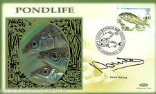 2001 Pondlife - Benham Small Silk - Signed by HOWIE WATKINS