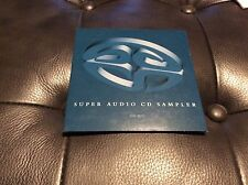 Hybrid SACD Sony Super Audio CD Sampler Multichannel MEGA rare Super Audio Gold