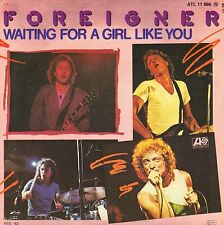 """7"""" Foreigner – waiting for the Girl Like You // Germany 1982"""