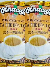 VINACAFE Instant Coffee MIX 3 in 1 20g  pack of 2 ( 40 sachets total ) New