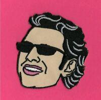 Jeff Goldblum Iron On Patch Sew Geoff The Fly Jurassic Park World Thor Ragnarok