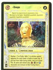 Star Wars CCG Endor Foil Threepio