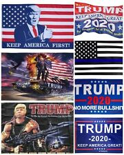 New listing Trump flag 3x5 double sided