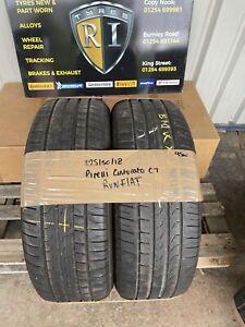225/50/18 Pirelli Cinturato C7 RunFlat 95w 4.5mm PART WORN TYRE