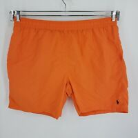 Ralph Lauren Polo Mens Size 3XLT Big and Tall Orange Swim Trunks shorts liner