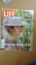 1971 august 20 LIFE Princess Anne Cover! Apollo 15 Feature! NASA ROVING THE MOON