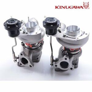 Kinugawa Upgrade Billet Twin Turbo Mitsubishi 6G72T 3000GT TD04HL-20T / Forge WG