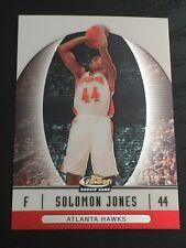 2006-07 Finest SOLOMON JONES RC #91 basketball card ~ USF / HAWKS rookie ~ F1