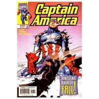 Captain America (1998 series) #17 in Near Mint condition. Marvel comics [*95]
