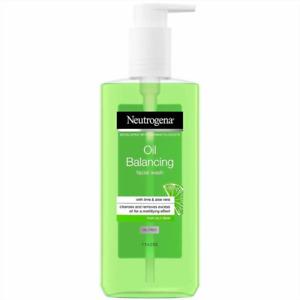 Neutrogena Oil Balancing Facial Wash with Lime & Aloe Vera | Oil Free 200ml
