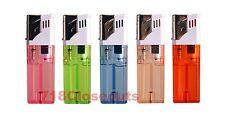 5 PACK Butane Gas Cigar Cigarette Lighter Jet Flame Torch Refillable Windproof