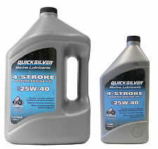 orig. Mercury Quicksilver Motoröl 5L SAE 25W-40  9,98€/1L Motor Öl 92-8M0086224