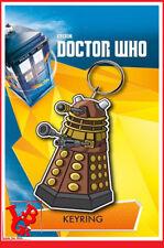 DR WHO Porte Clefs DALEK Caoutchouc Doctor Docteur  # NEUF #