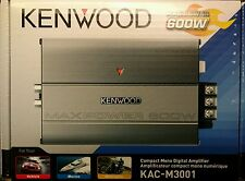 Kenwood KAC-M3001 600 Watts Compact Mono Channel Digital Amplifier