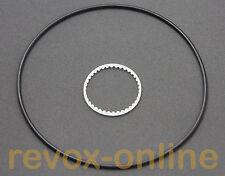 Riemensatz belt set Zähler Counter Revox B77 MK II Zahnriemen + Antriebsriemen