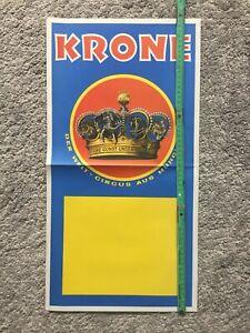 Plakat Circus Krone, Zirkus