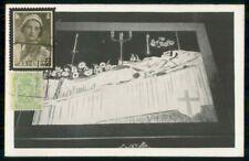 Mayfairstamps Belgium Queen Mourning Postcard wwk65961