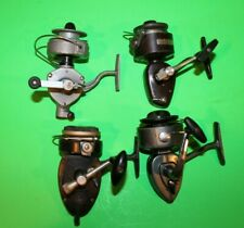 LOT OF 4 VINTAGE SPINNING REELS - TED WILLIAM LARCHMONT PFLUEGER SHAKESPEARE