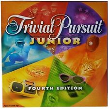 Board Game Trivial Pursuit Junior Fourth Edition By Parker Brothers