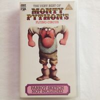Very Best Of Monty Python's Flying Circus Parrot Sketch Not Included VHS Tape