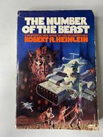 The Number Of The Beast. Robert A Heinlein. First Paperback Printing 1980