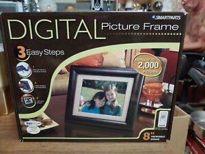 Samartparts Digital Picture Frame 8 inch LCD display