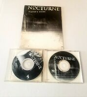 🔥 NOCTURNE (PC GAME 1999) 2 DISCS, WITH PLAYERS GUIDE terminal reality