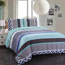 Simple Stripes Bed Set Duvet Cover Set Quilt Cover Set Queen King Size