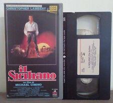 VHS FILM Ita Azione Mafia IL SICILIANO christopher lambert cimino no dvd(VHS5)