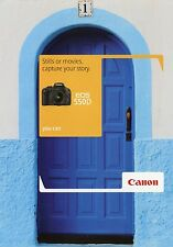 Prospekt 2010 gb Canon EOS 550d folleto cámara brochure Camera japón Asia