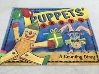 THE PUPPETS PARTY A COUNTING STORY MATH  Big Teacher Book Big Book PB Day Care