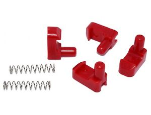 ORIGINAL Geo Tracker/Suzuki Sidekick soft top roof latch clip kit (with springs)