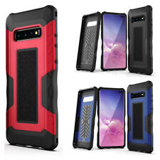 For Samsung Galaxy S10+ Hard Phone Case Shockproof Hybrid Tough Armor Full Cover
